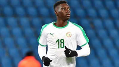 Ismaila Sarr of Senegal during the international friendly match match between Senegal and Bosnia Herzegovina on March 27, 2018 in Le Havre, France