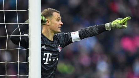 Manuel Neuer Hertha BSC FC Bayern