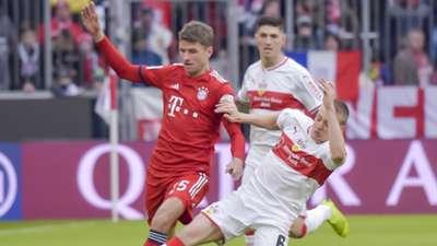 Thomas Müller FC Bayern Stuttgart 290119