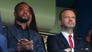 Patrice Evra, Ed Woodward, Man Utd