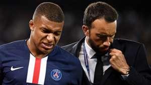 Kylian Mbappe Injury PSG Toulouse
