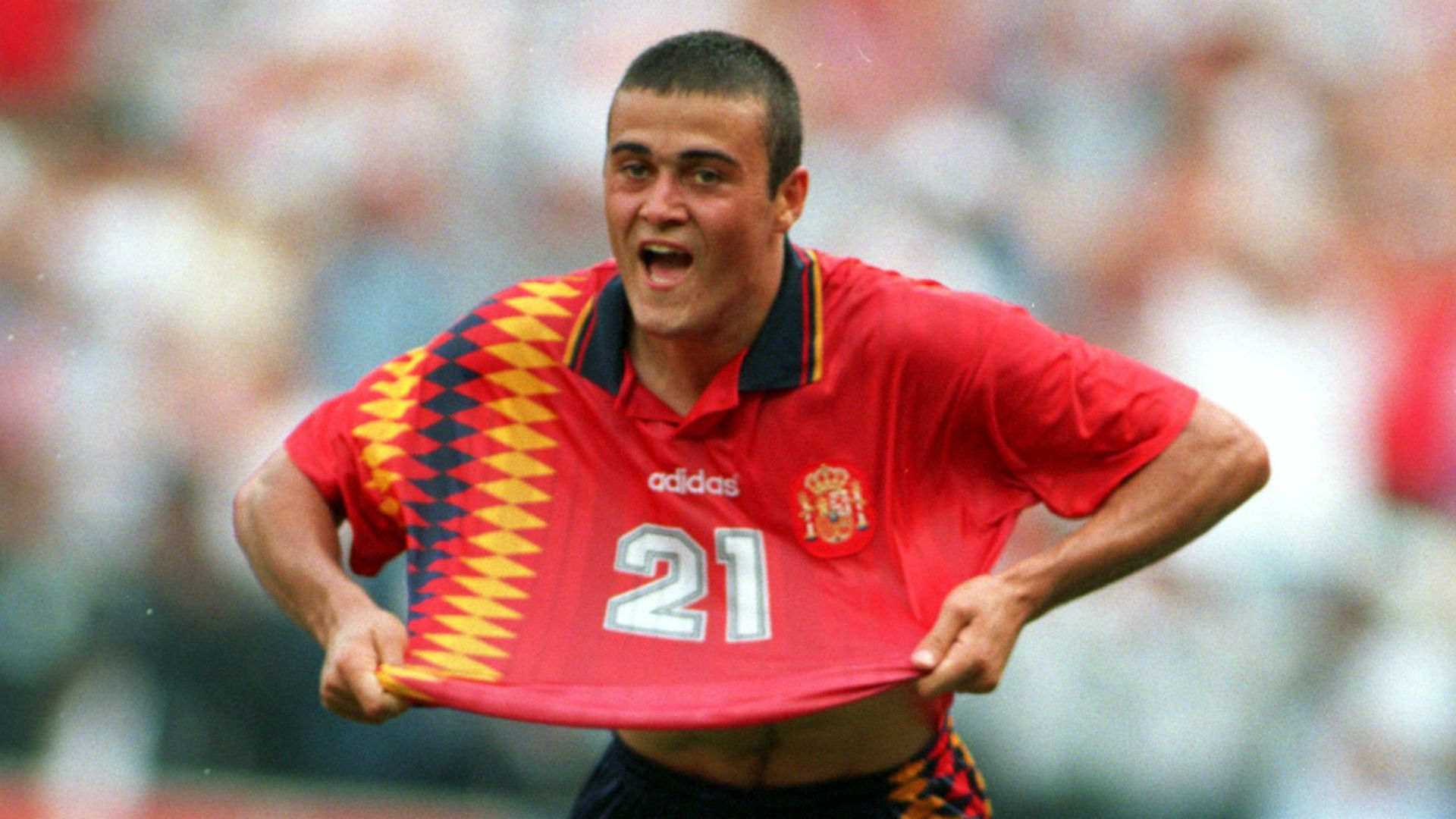 Luis Enrique Spain 1994 World Cup