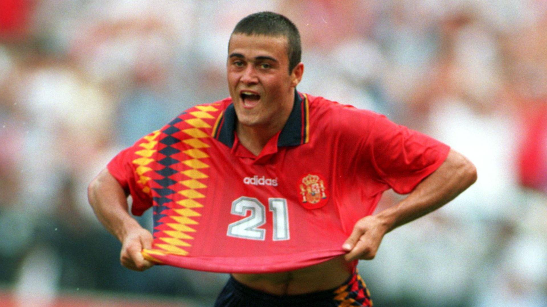 Luis Enrique Spain 1994 World Cup