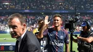Neymar presentation at Parc des Princes PSG 05082017