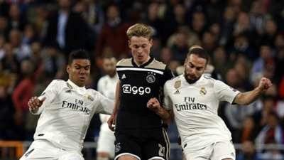 Frenkie de Jong, Real Madrid - Ajax, 03052019