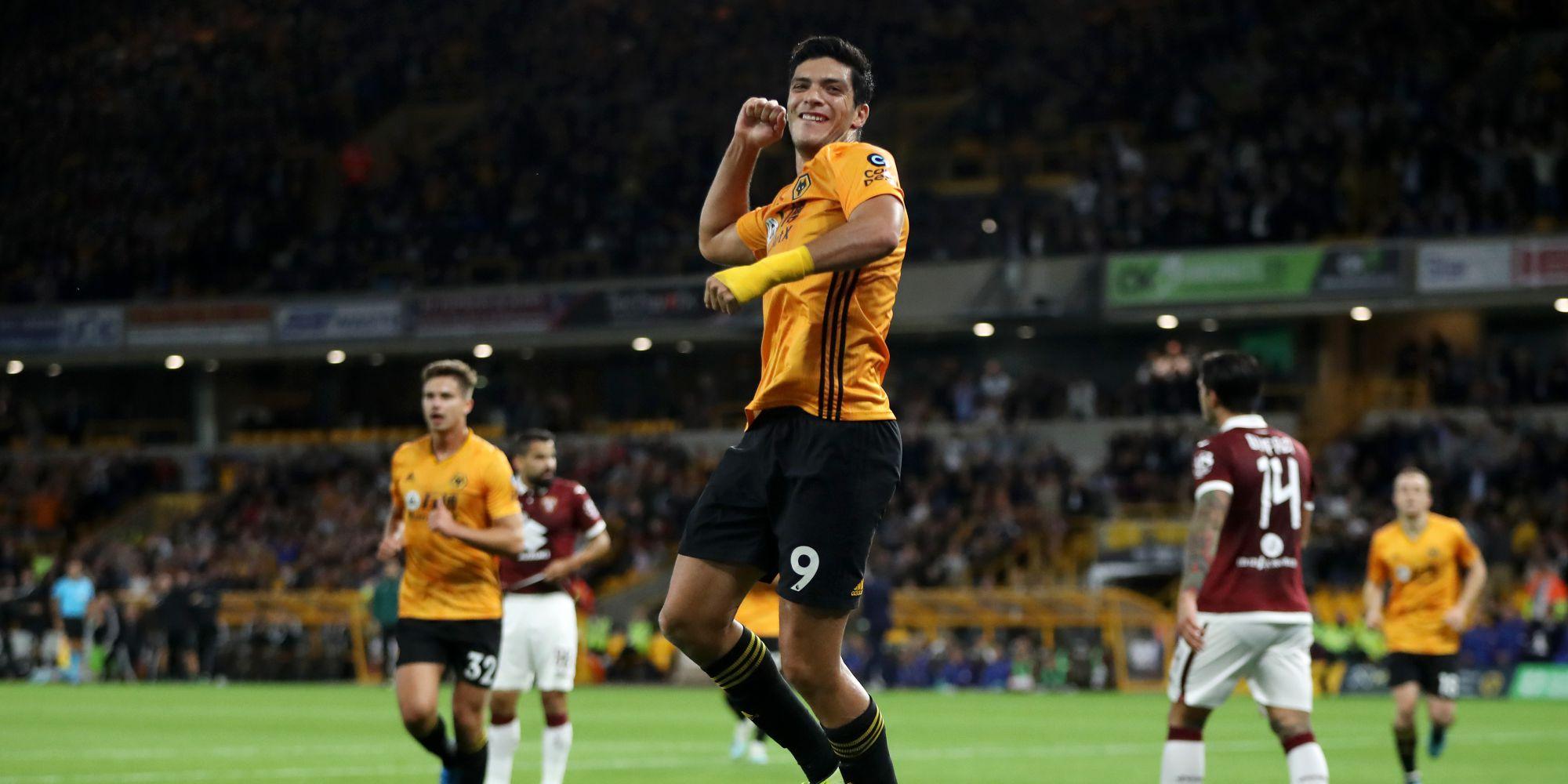 Raul Jimenez Wolverhampton Torino Europa League