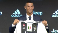 Cristiano Ronaldo Juventus shirt screengrab