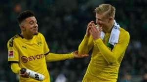Jadon Sancho/Erling Haaland Borussia Dortmund 2019-20