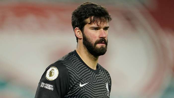 Alisson Becker Liverpool 2020-21