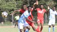 Hassan Abdallah of Bandari v Kevin Kimani of Sofapaka.