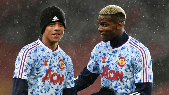 Mason Greenwood, Paul Pogba