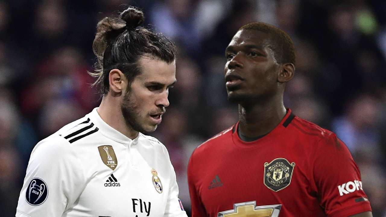 Gareth Bale Paul Pogba