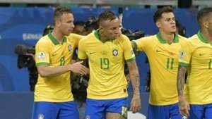 Coutinho Everton Arthur Brasil Copa América 2019
