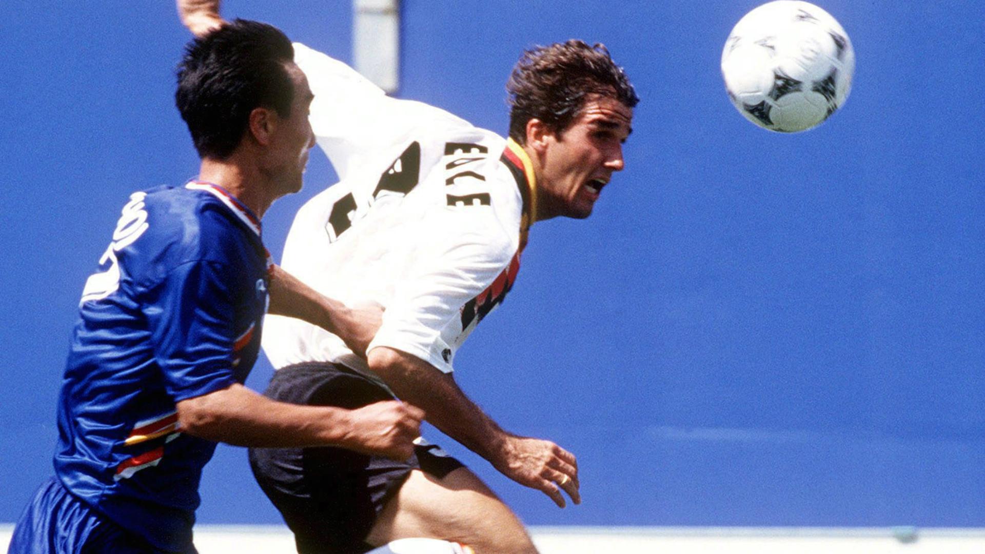 Karl-Heinz Riedle, Germany, World Cup 1994