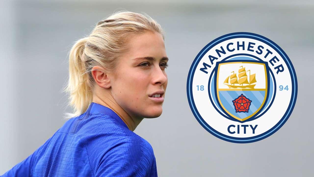 Abby Dahlkemper Manchester City logo