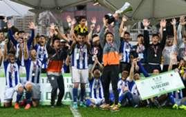 Sapling Cup, Lee Man 3:2 won over Yuen Long.