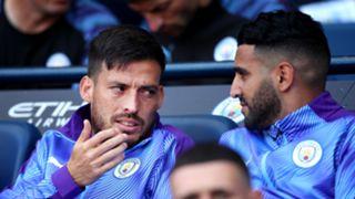 Riyad Mahrez David Silva Manchester City 2019-20