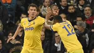 Mario Mandzukic Real Juventus UCL