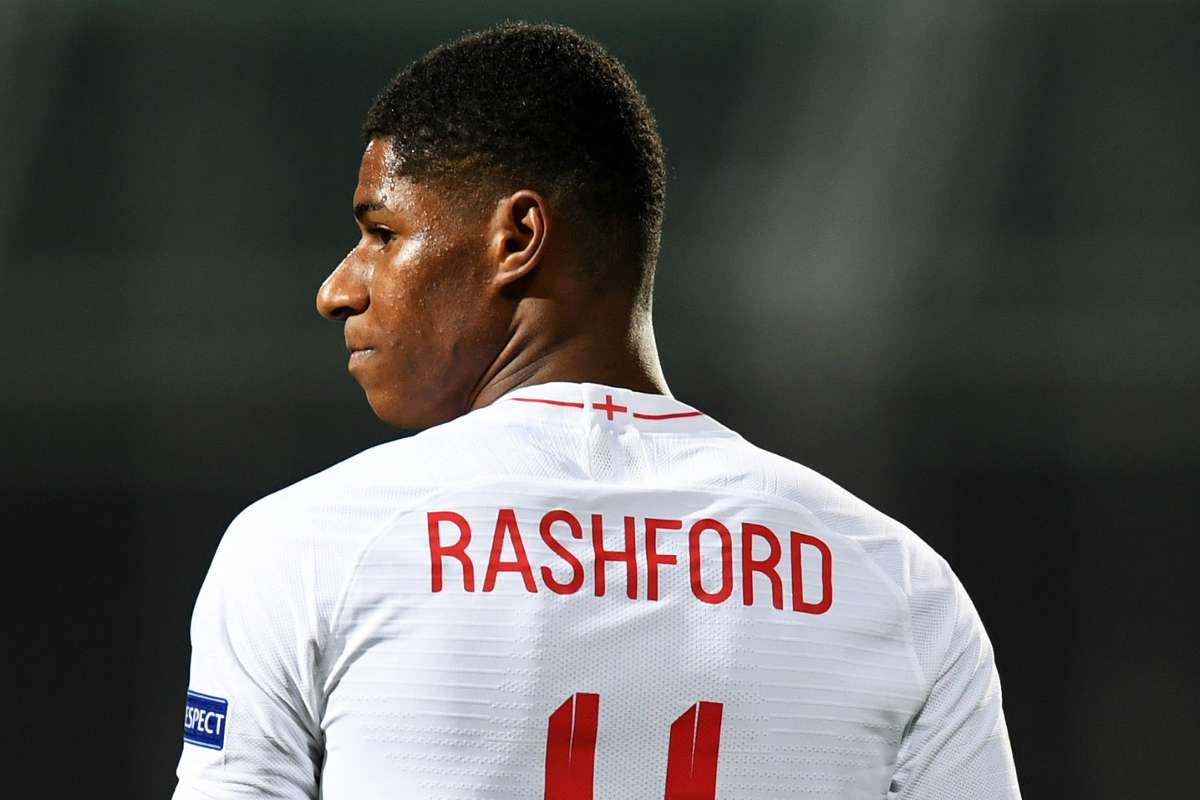 Manchester United News Marcus Rashford Faces Fight To Win England Place Back Says Alan Shearer Goal Com