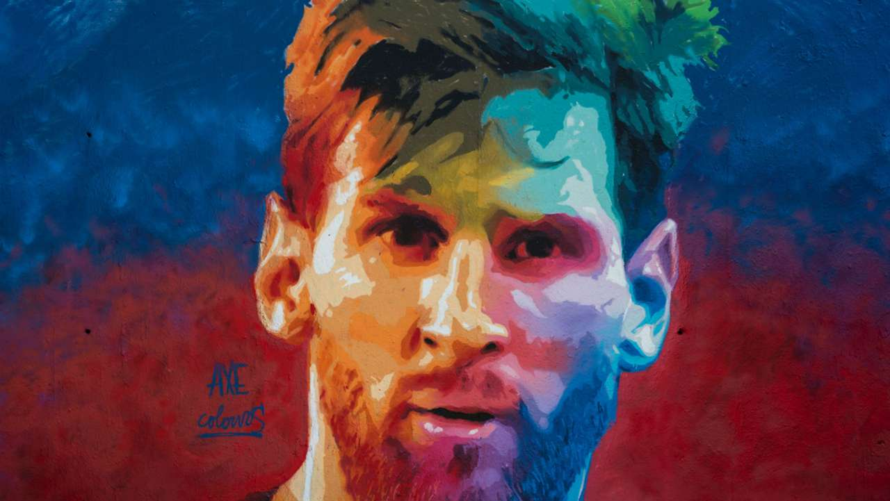 Lionel Messi Mural