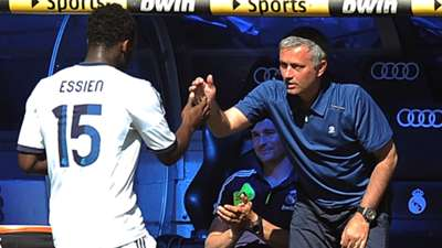 Michael Essien Jose Mourinho Real Madrid