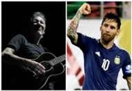 Roger Walters Lionel Messi Pink Floyd Argentina