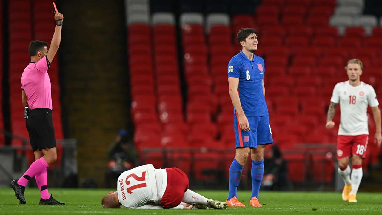 Harry Maguire England 2020