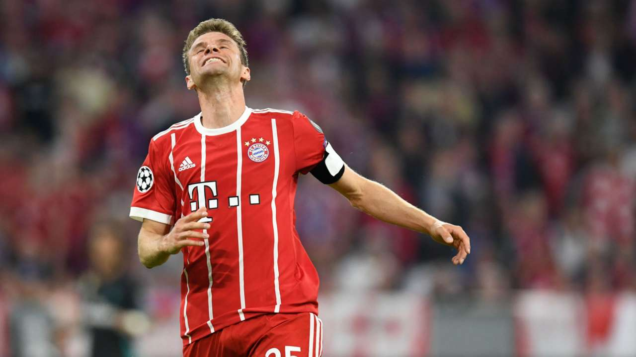 Thomas Mueller Bayern Munich Real Madrid Champions League