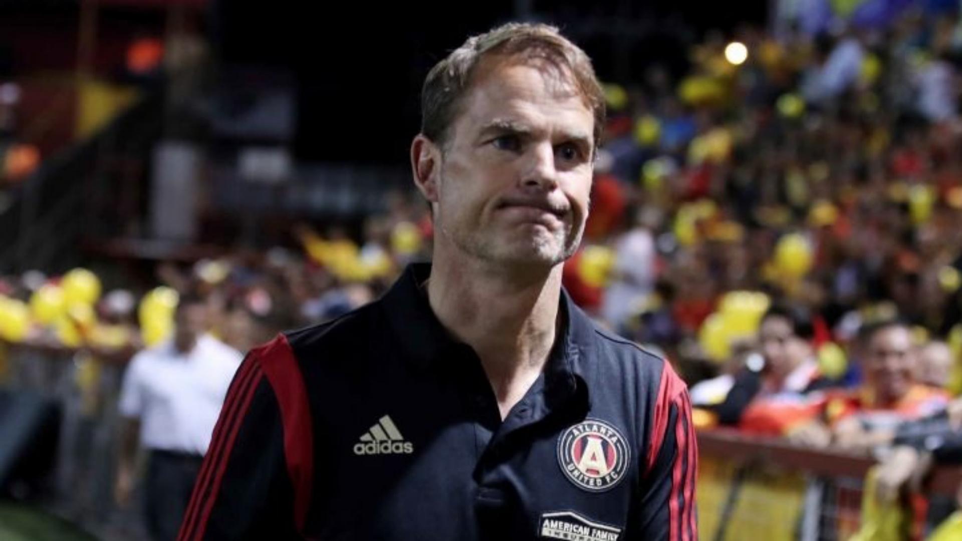 Atlanta United parts ways with manager Frank De Boer