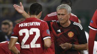 Henrikh Mkhitaryan Jose Mourinho Manchester United