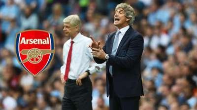 Manuel Pellegrini - Arsene Wenger - Arsenal