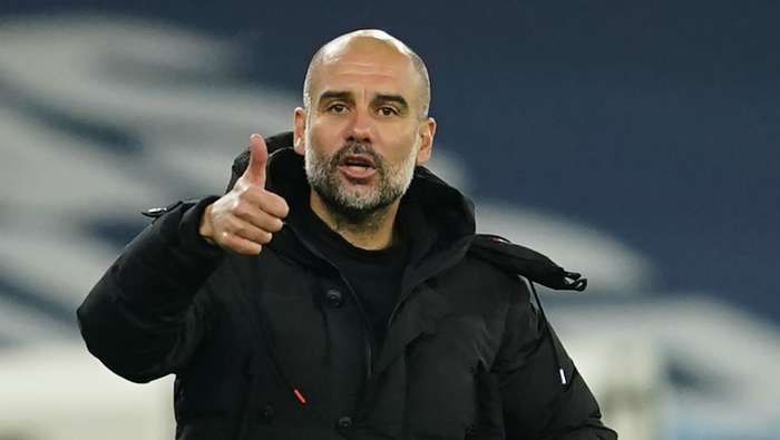 Pep Guardiola Man City 2020-21