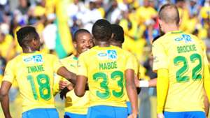 Mamelodi Sundowns players, August 2018