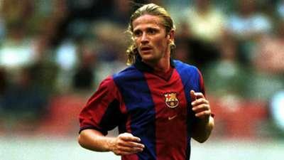 Emmanuel Petit Barcelona La Liga