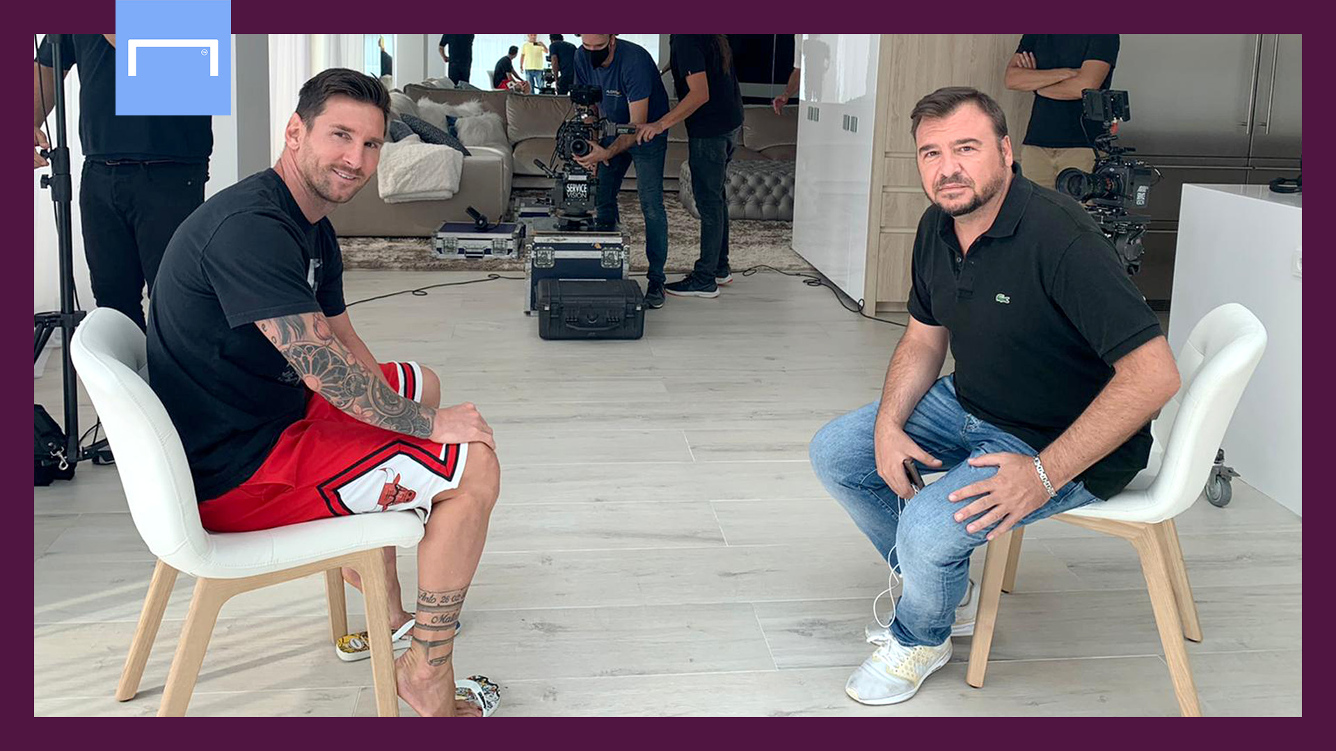 Video: Messi: Why I am staying at Barcelona despite heartbreak