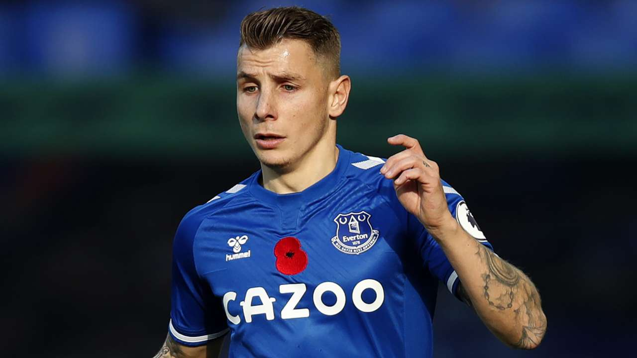 Lucas Digne Everton 2020-21