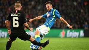 Marco Verratti Fabian Ruiz PSG Napoli