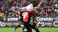 Issiaga Sylla Raphinha Rennes Toulouse Ligue 1 27102019
