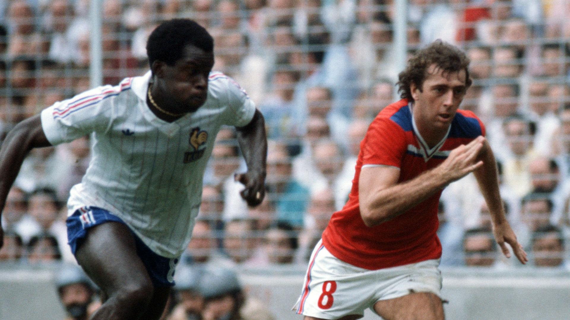 Marius Tresor France Trevor Francis England World Cup 1982