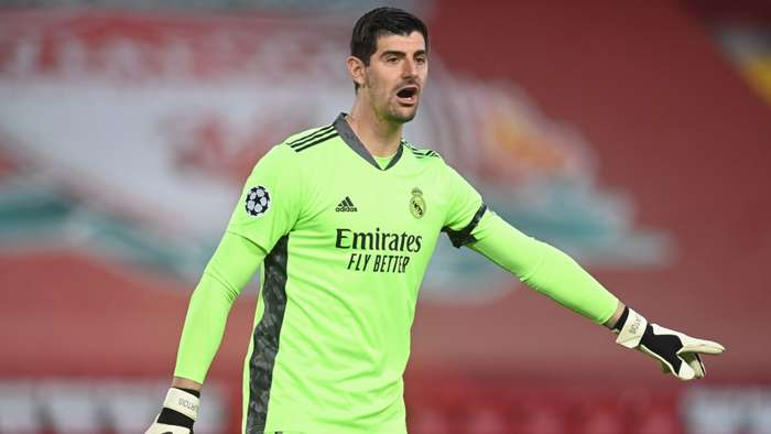 Thibaut Courtois Real Madrid 2020-21