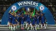 Chelsea celebration Champions League final 2020-21