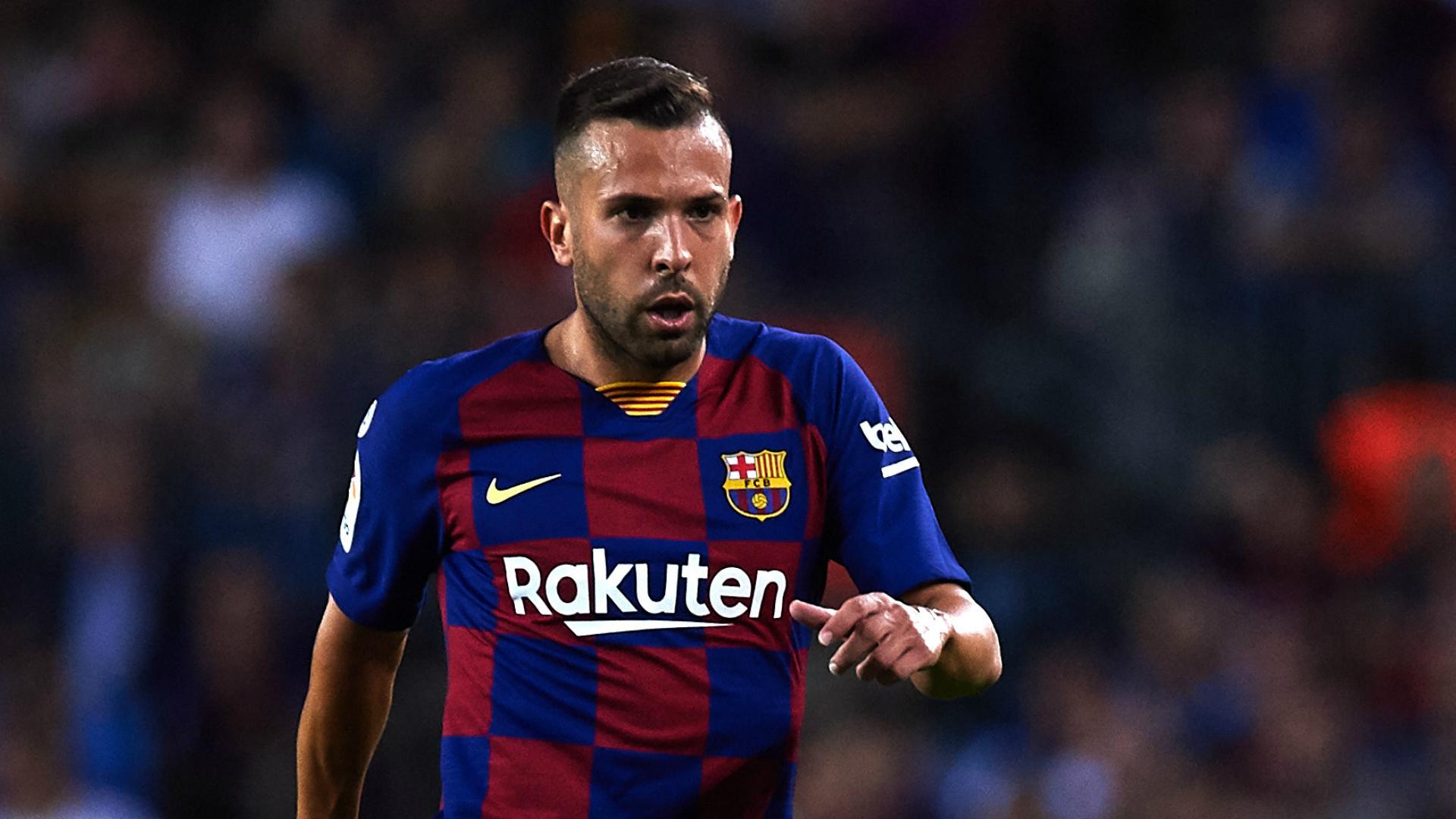 Boost for Barcelona as Jordi Alba returns to squad for Clasico ...