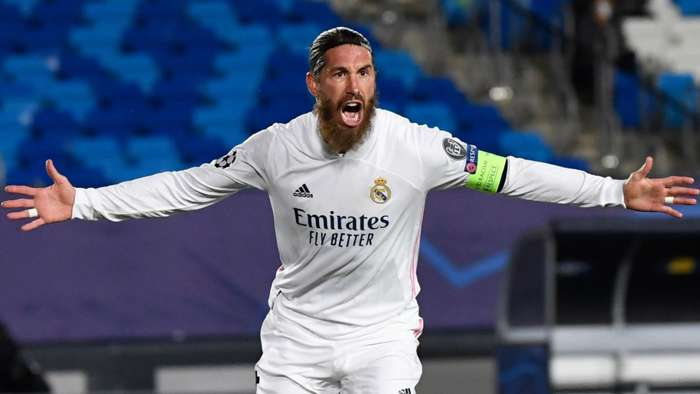 Sergio Ramos Real Madrid Inter 2020