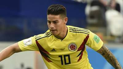 James Rodriguez Colombia 2018