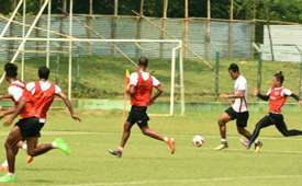 East Bengal practice