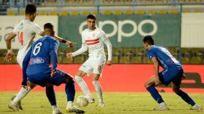 Achraf Bencharki Al Zamalek Aswan EPL 2020-2021
