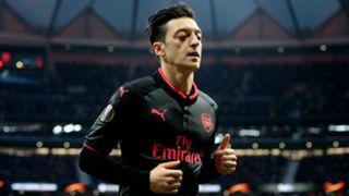 Mesut Ozil Arsenal Atletico Madrid Europa League