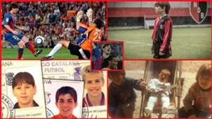 La foto-historia de Messi: De la cuna hasta su primer gol