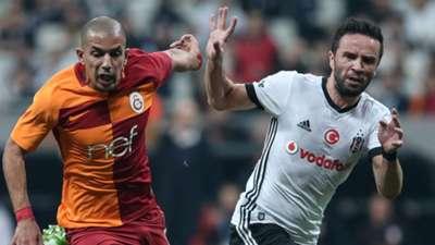 Sofiane Feghouli Gokhan Gonul Besiktas Galatasaray STSL 12022017