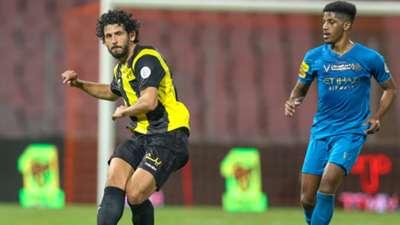 Ahmed Hegazy Raed Al Ghamdi Al Ittihad Al Nassr SPL 24.01.2021